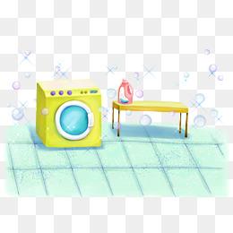 免费下载 手绘洗衣图片大全 千库网png
