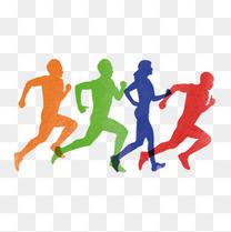 人物跑步图素材图片免费下载 高清图片png 千库网 图片编号6909318