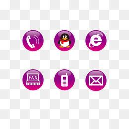 免费下载 电话qq图标图片大全 千库网png
