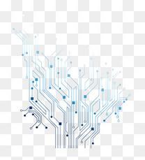 科技线条PPT基础元素