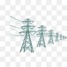 高压电缆风景图_【电线素材】_电线图片大全_电线素材免费下载_千库网png