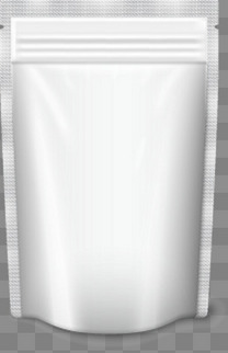 透明食品包装矢量