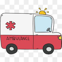 担架急救车图片