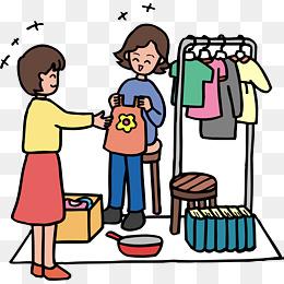 【买衣服矢量素材】免费下载_买衣服矢量图片大全_千库网png