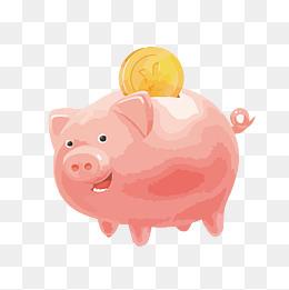 淘宝达人qq_矢量小猪储蓄罐PNG图片素材图片免费下载_高清装饰图案psd_千库网 ...
