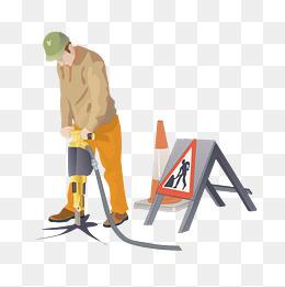 电力工人图片