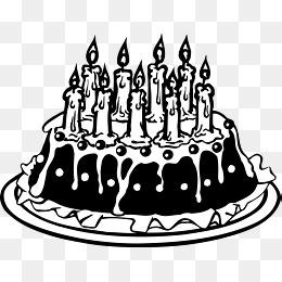 免费下载 生日蛋糕简笔画图片大全 千库网png