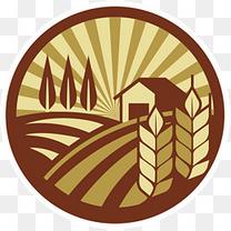 稻谷图标标识logo