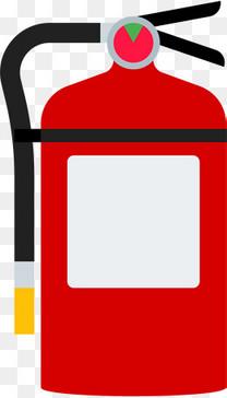 红色灭火器图标