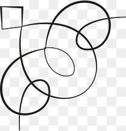 简洁手绘线条图片