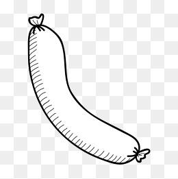 免费下载 零食简笔画图片大全 千库网png