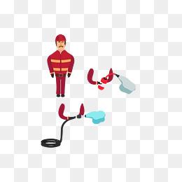 消防灭火器图标