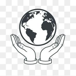 免费下载 黑白地球图片大全 千库网png