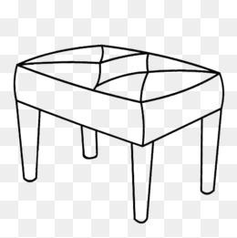 免费下载 桌子简笔画图片大全 千库网png
