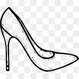 素描鞋图片大全 素描鞋素材免费下载 千库网png