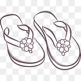 免费下载 素描鞋子图片大全 千库网png