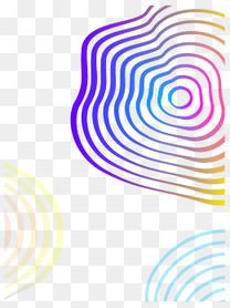 彩色水纹花纹