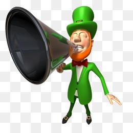 拿喇叭喊的卡通人物_【大声喊素材】_大声喊图片大全_大声喊素材免费下载_千库网png