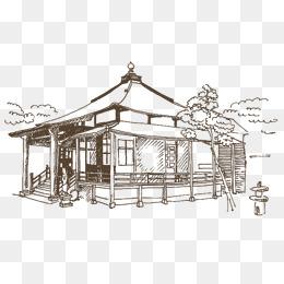 免费下载 简笔画房子图片大全 千库网png 第2页