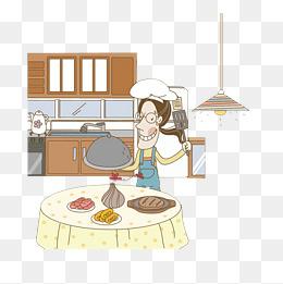 免费下载 厨房简笔画图片大全 千库网png