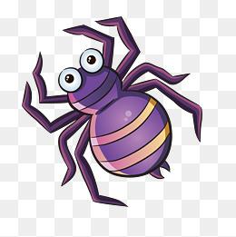 卡通手绘可爱的蜘蛛图片