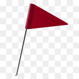 三角形红旗图片_【流动红旗素材】免费下载_流动红旗图片大全_千库网png