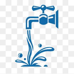 水龙头流水装饰图案图片