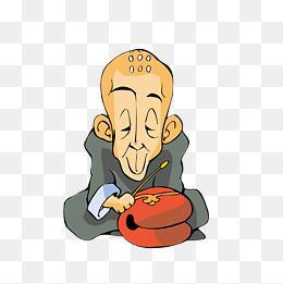 卡通 木鱼_【禅素材】_禅图片大全_禅素材免费下载_千库网png_第4页