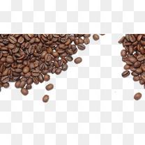 咖啡豆背景食品饮料