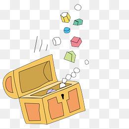 卡通投票箱图片大全_【卡通百宝箱素材】免费下载_卡通百宝箱图片大全_千库网png