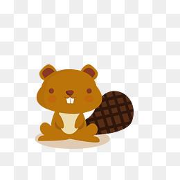 卡通可爱小动物装饰设计动物头像松鼠图片