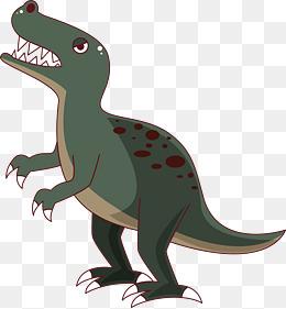 卡通可爱小动物装饰动物头像恐龙图片