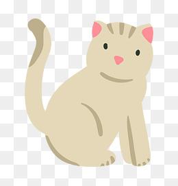 卡通可爱小动物装饰动物头像图片