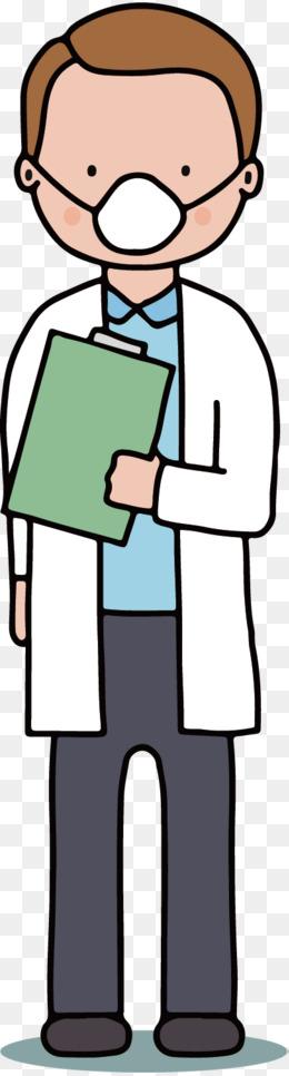矢量图戴口罩的男医生图片