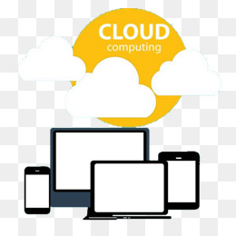 电脑云计算png图片