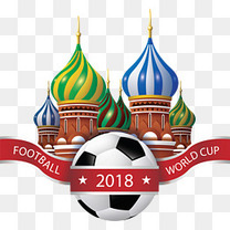 俄罗斯城堡世界杯海报