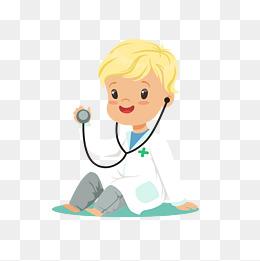 医生用的卡通听诊器图片