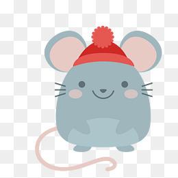 卡通老鼠矢量图下载素材图片免费下载_高清psd_千库网图片