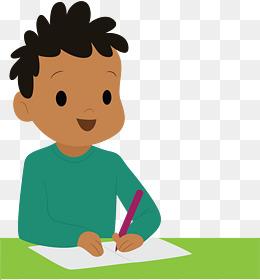 开学小女生卡通人物形象再苟一天就写作业表情包图片