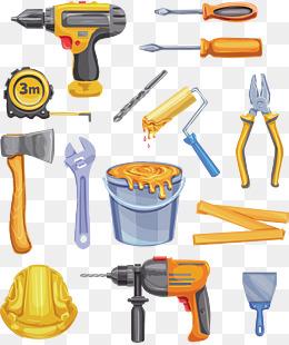建筑工具_【建筑工具素材】免费下载_建筑工具图片大全_千库网png