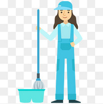 社区清洁免抠PNG