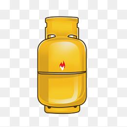 卡通煤气罐png下载图片