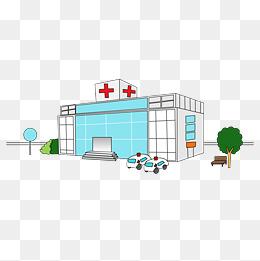 卡通医院效果图图片