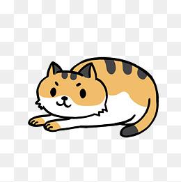 卡通可爱小动物装饰设计动物头像猫咪图片