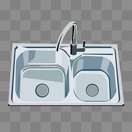 厨房厨具图片_【水槽素材】_水槽图片大全_水槽素材免费下载_千库网png
