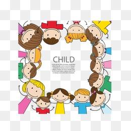 免费下载 儿童手拉手图片大全 千库网png图片