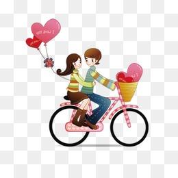 免费下载 单车情侣图片大全 千库网png图片