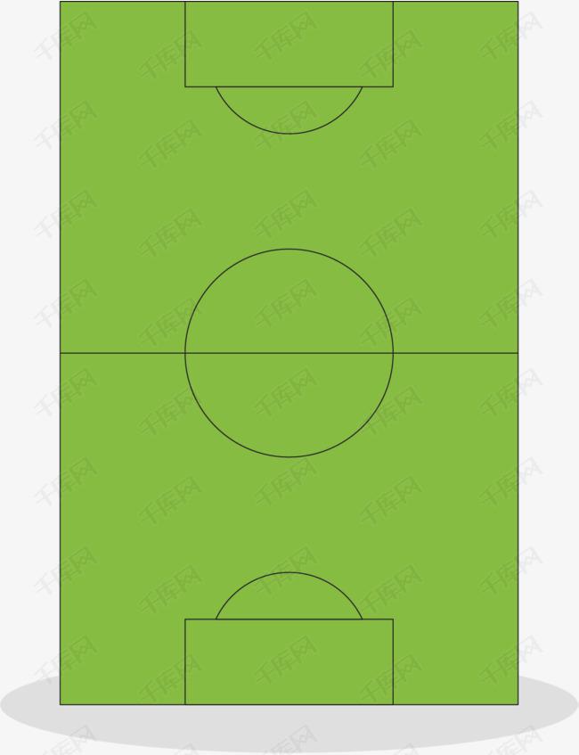 矢量图篮球场平面图的素材免抠矢量图绿色设计规则图形手绘场地线条
