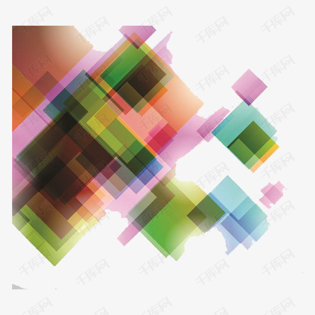 叠影几何方块