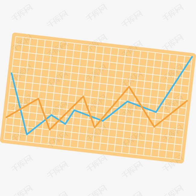 线条矢量卡通报表图片